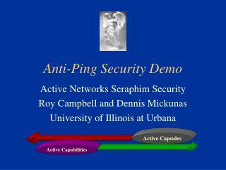 Anti-Ping Security Demo