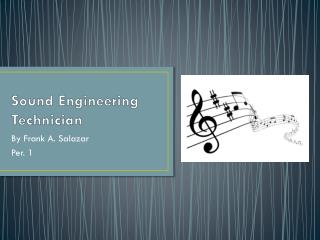 Sound Engineering Technician