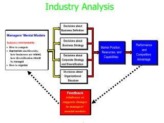 Managers' Mental Models Industry  environments