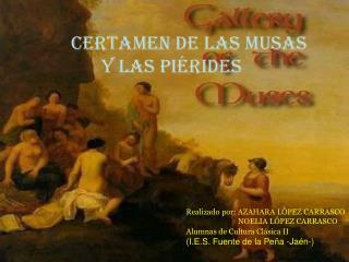 CERTAMEN DE Las Musas                                          y Las Piérides