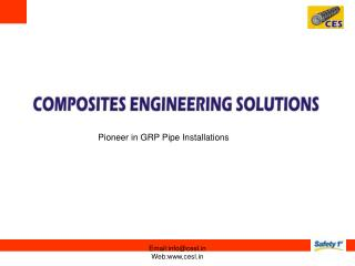 Pioneer in GRP Pipe Installations