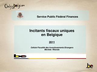 Service Public F é d é ral Finances