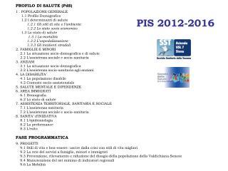PIS 2012-2016