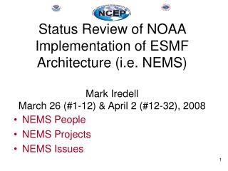 NEMS People NEMS Projects NEMS Issues
