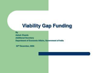 Viability Gap Funding
