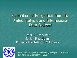 Estimation of Emigration from the United States using International Data Sources