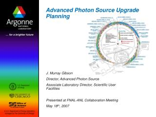 Advanced Photon Source Upgrade Planning