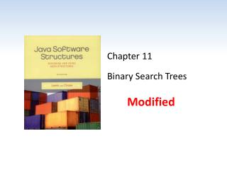 Chapter 11 Binary Search Trees