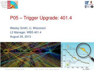 P05  � Trigger Upgrade: 401.4
