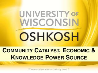 Community Catalyst, Economic & Knowledge Power Source