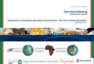 Agricultural Banking Stanbic Bank Uganda