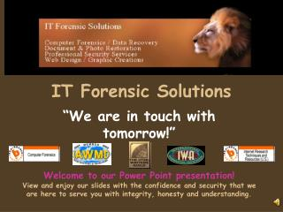 IT Forensic Solutions