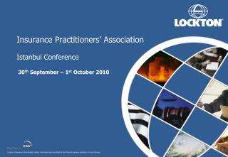 Insurance Practitioners� Association Istanbul Conference