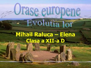 Mihail Raluca – Elena Clasa a XII-a D
