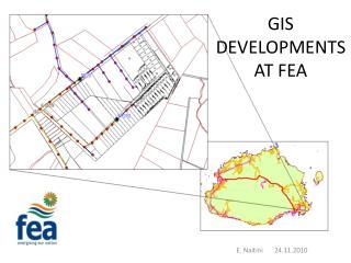 GIS  DEVELOPMENTS  AT FEA