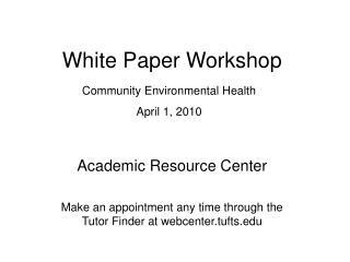 White Paper Workshop