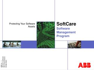 SoftCare Software Management Program