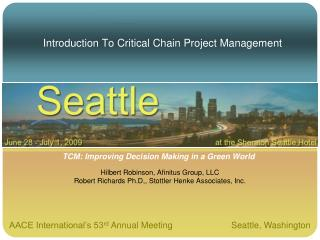 Introduction To Critical Chain Project Management