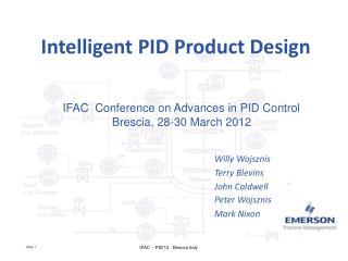 Intelligent PID Product Design