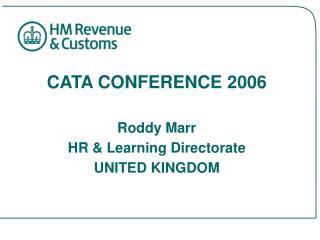 CATA CONFERENCE 2006
