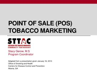 Point of sale (POS) Tobacco marketing