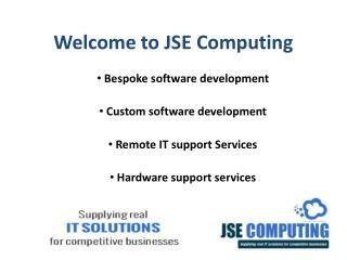JSE Computing Ltd - Custom Software Development