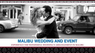 malibu beach wedding packages- wedding locations in malibu