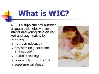 What is WIC?