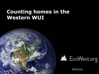 Counting homes in the Western WUI