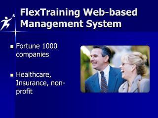 Fortune 1000 companies  Healthcare, Insurance, non-profit