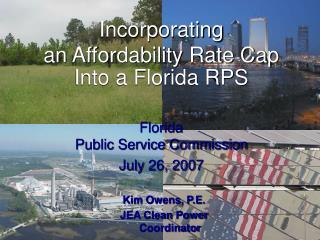 Kim Owens, P.E. JEA Clean Power Coordinator