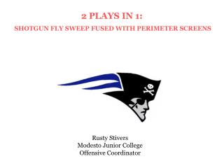 Rusty Stivers Modesto Junior College Offensive Coordinator