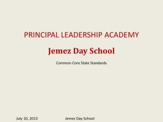 July 10, 2013Jemez Day School