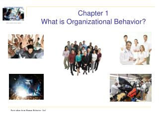 Chapter 1 What is Organizational Behavior?