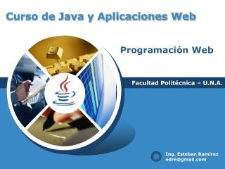 Curso de Java y Aplicaciones Web