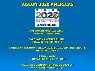 VISION 2020 AMERICAS
