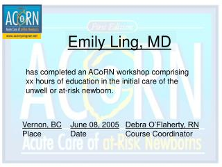 Emily Ling, MD