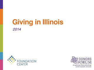 Giving in Illinois