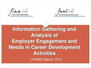 CDSWG Report: 2010