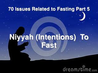 70 Issues Related to Fasting Part 5