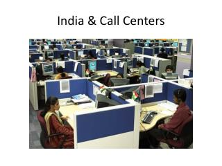 India & Call Centers