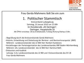 Landesverband  Baden-Württemberg