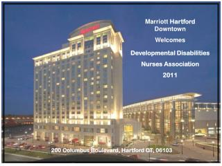 Marriott  Hartford  Downtown Welcomes