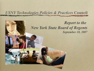 USNY Technologies Policies & Practices  Council
