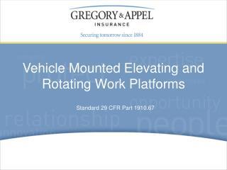 Standard 29 CFR Part 1910.67