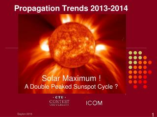 Propagation Trends 2013-2014