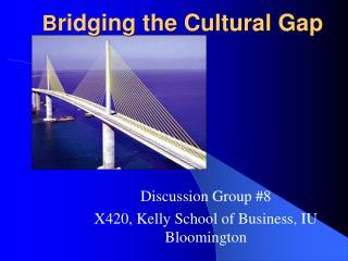 B ridging the Cultural Gap