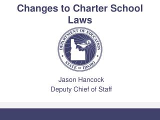 Changes to Charter School Laws