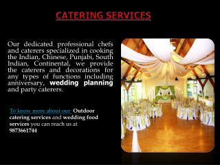 A-One Caterers & Decorators