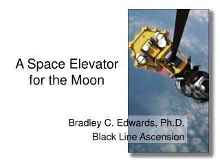A Space Elevator for the Moon